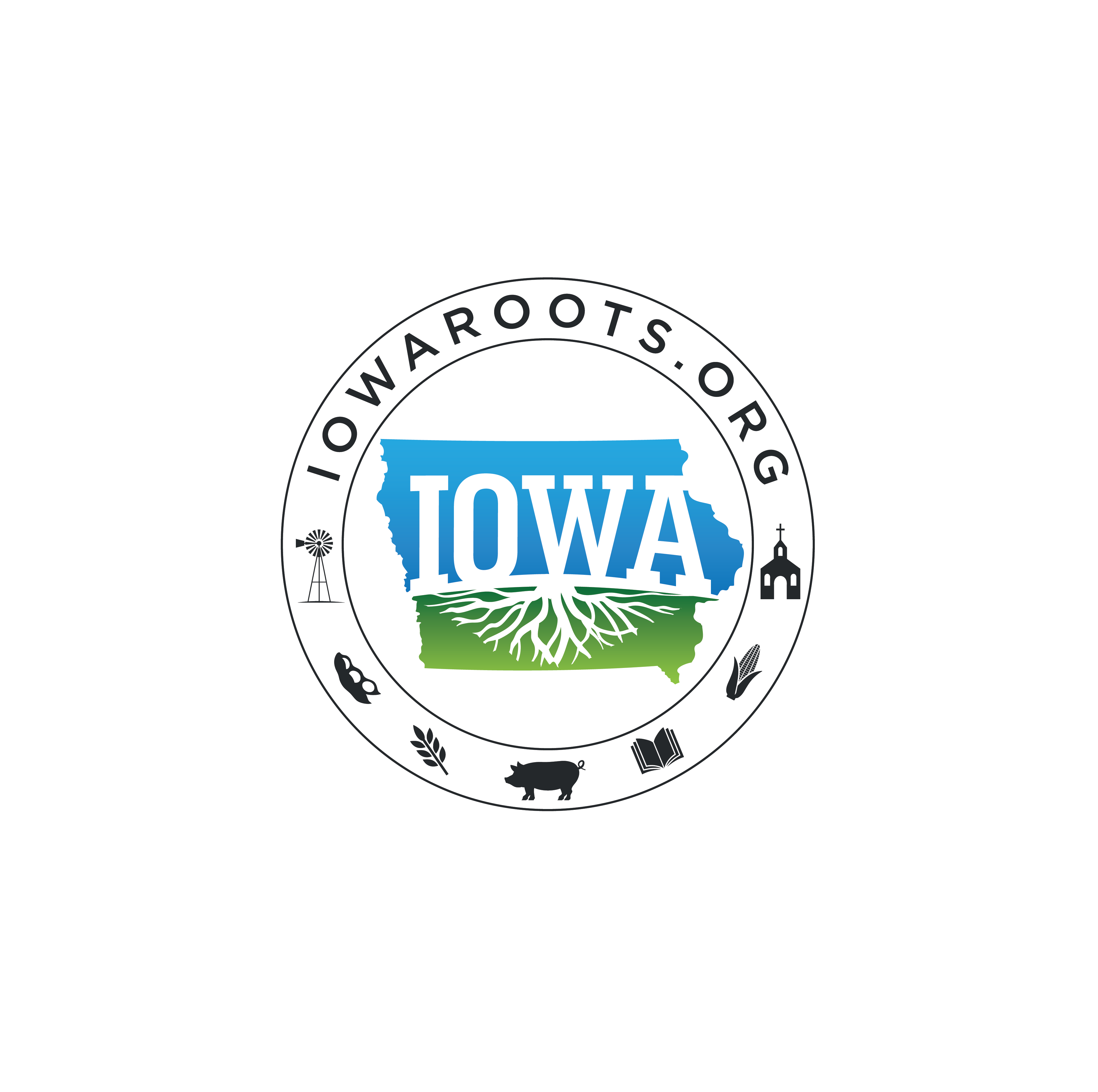 Making Rural America Great Again, Design a logo for Iowa Roots