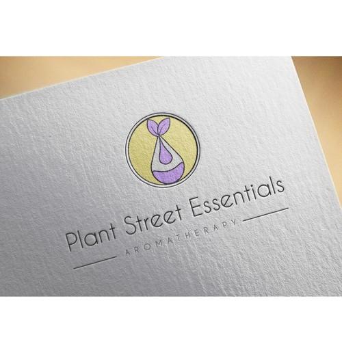Logo for essential oil shop