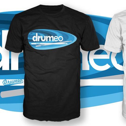 Drumeo t-shirt design