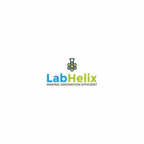 Design the logo for a lab management web application