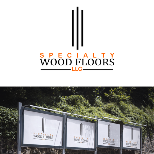 Create a clean logo for Specialty Wood Floors