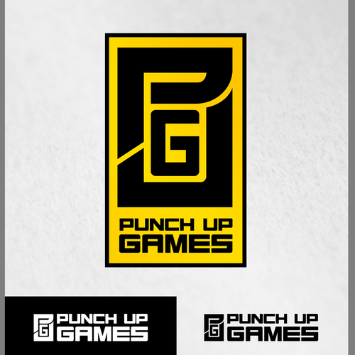 Abstract Logo for Punch Up Games