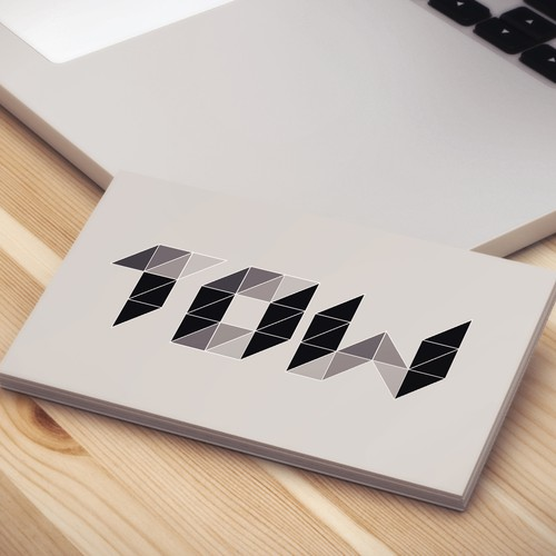 Logo for a communication agency TOW