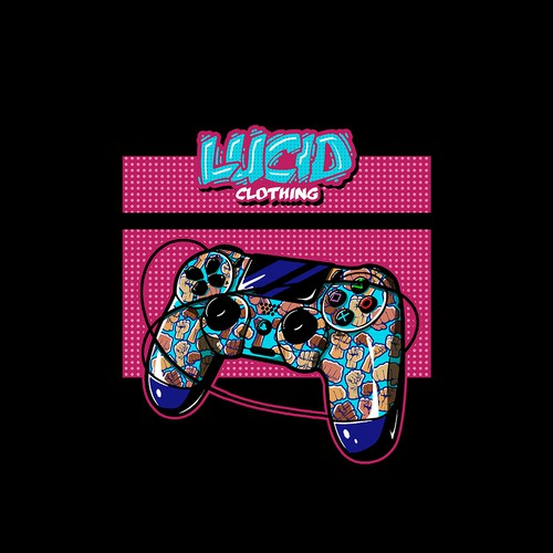 Lucid Clothing Controller T-shirt