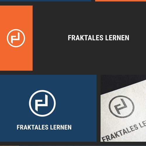 Fraktales Lernen Logo Design