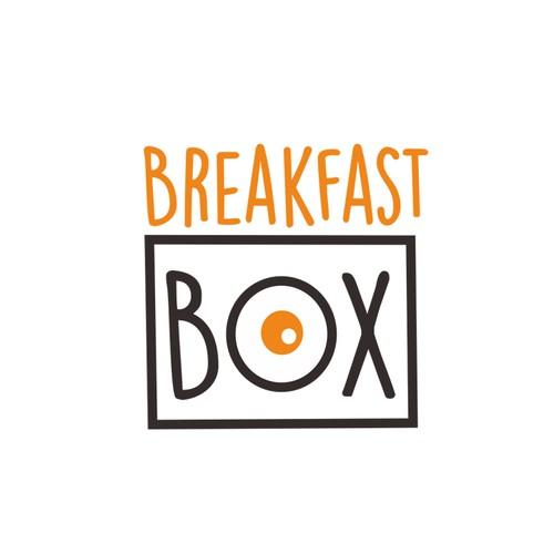 BreakFast Box logo design