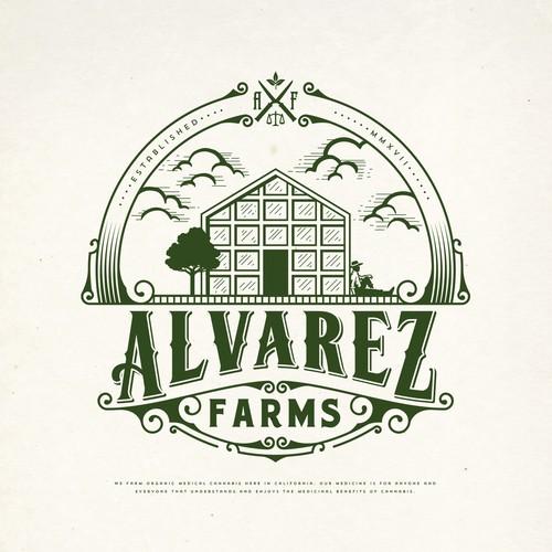 ALVAREZ FARMS LOGO DESIGN