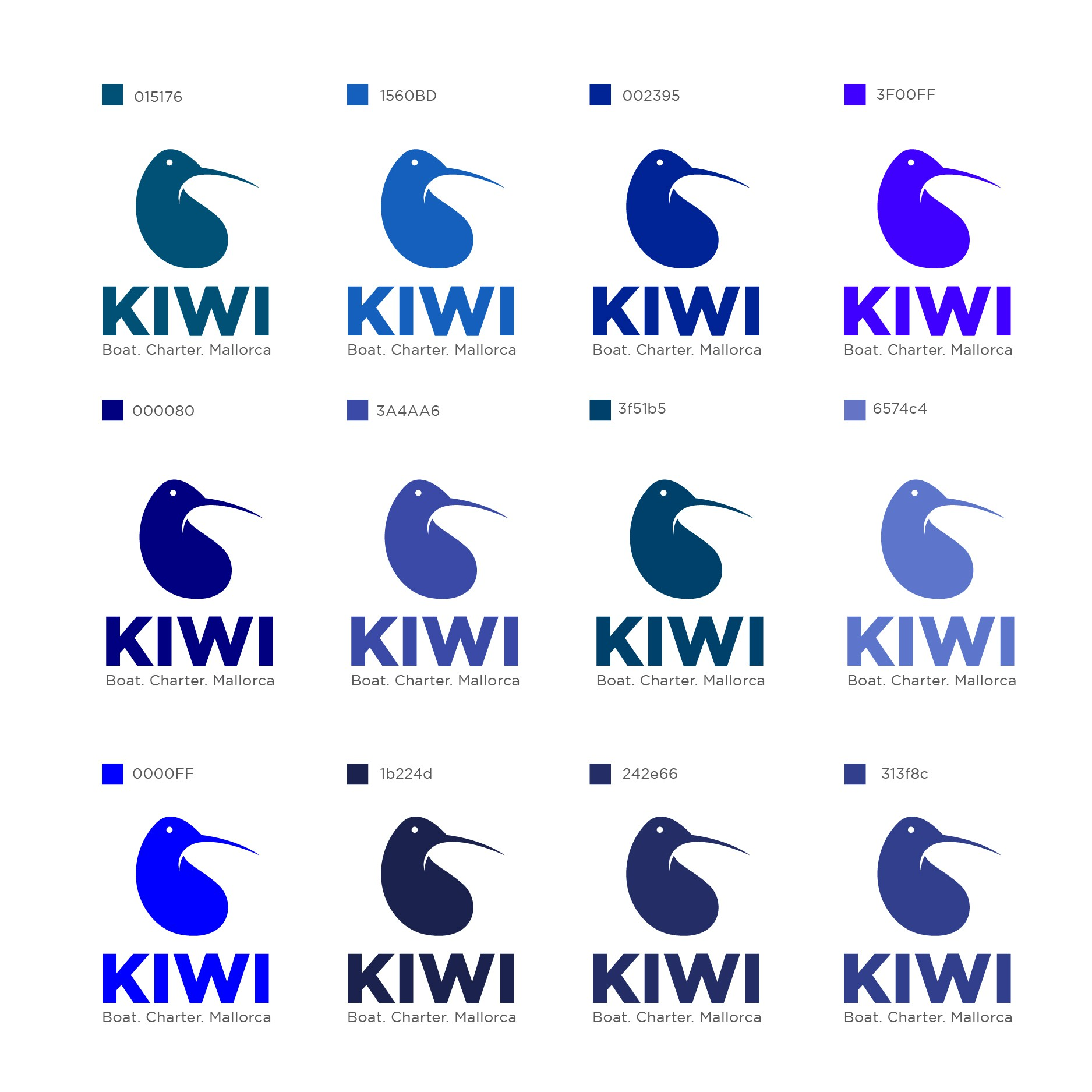 Kiwi a Boat Charter Agency is searching for an new Visual Brand