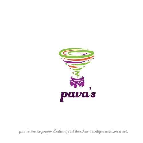 Logo concept for a fusion restaurant