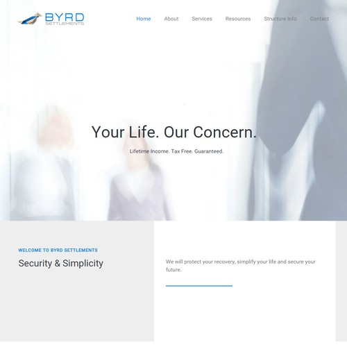 Byrd Settlements Website