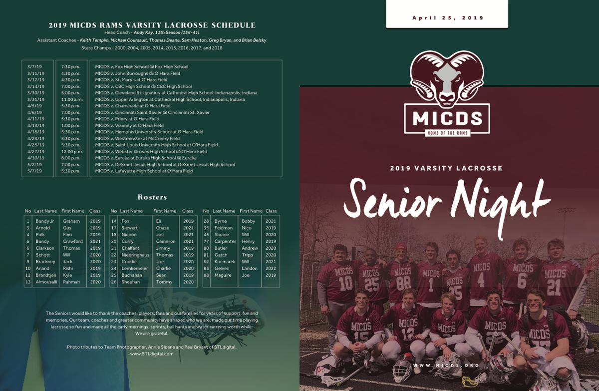 MICDS Lacrosse Program 2019