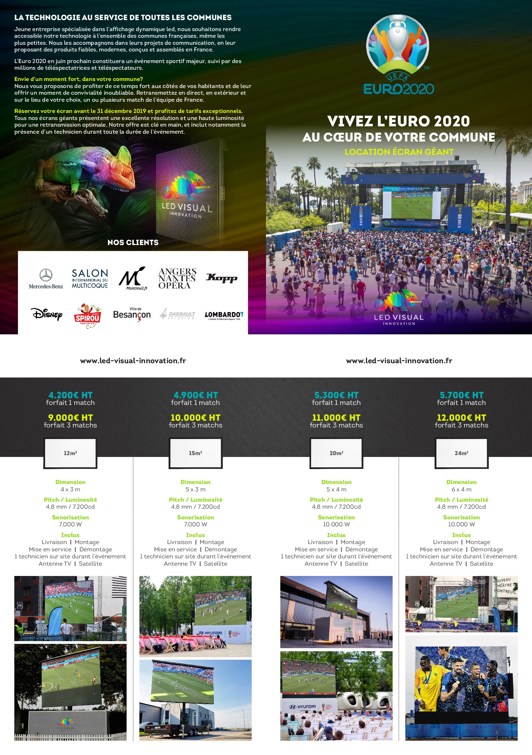 Sales brochure - Euro 2020 - rental giant led screen