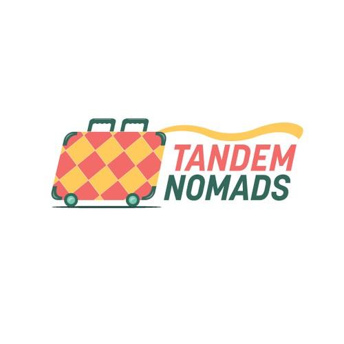 Logo design for Tandem Nomads