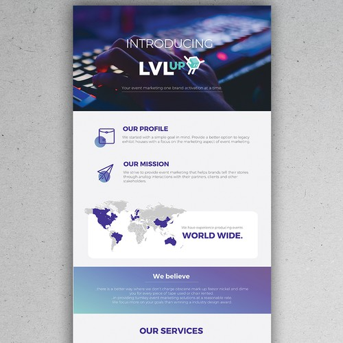 LVLup Agency Mailer
