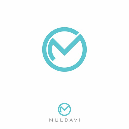 Conceito de logotipo Muldavi