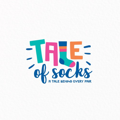 Funky Logo For Sock Brand