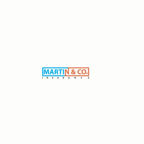 Logo concept for Martin & Co. Insurance