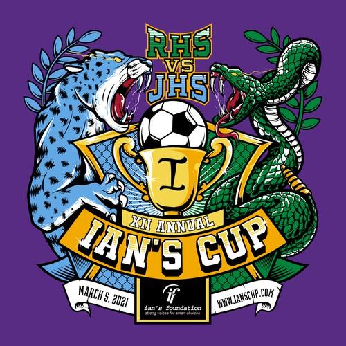 Ian's Cup Soccer Shirt Design