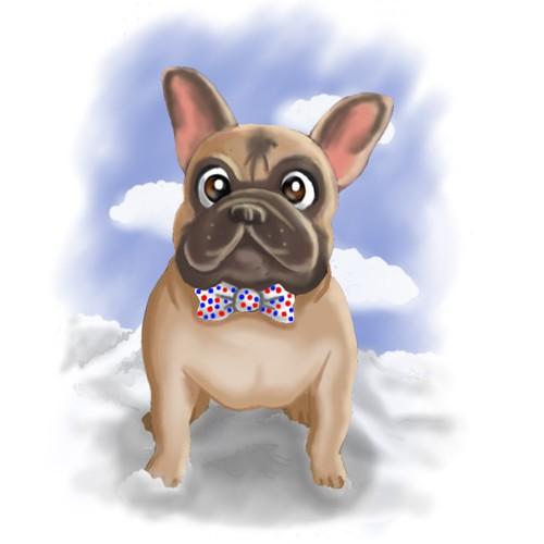 Mr. Moo Character Mascot