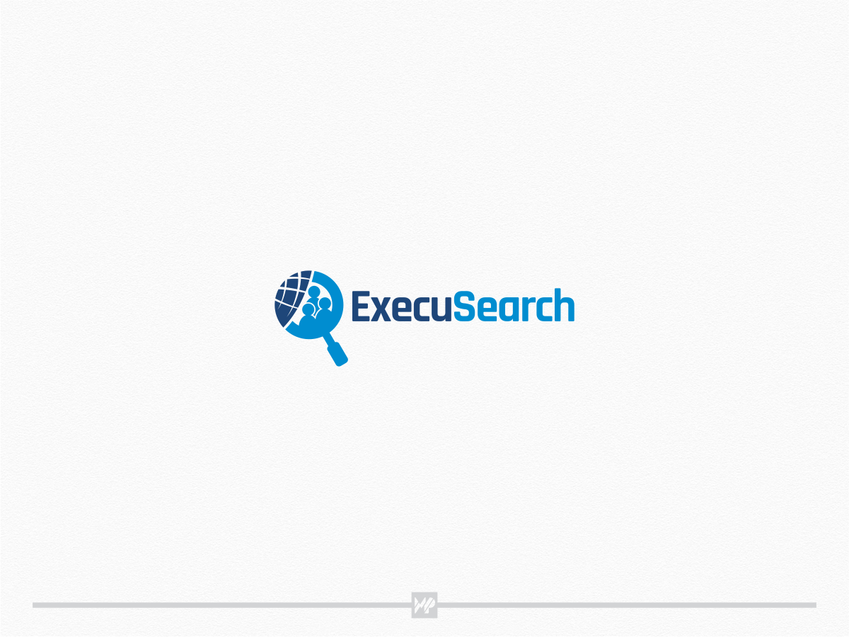 Create a modern and simple logo for ExecuSearch