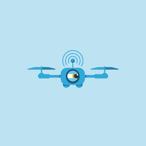 Logo concept for Drone Service Finder