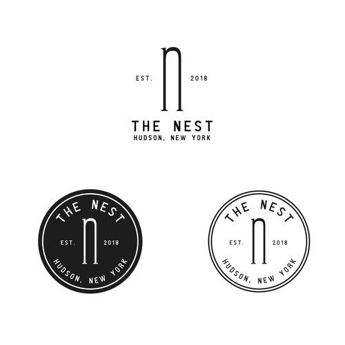 Brand concept for Nest, a boutique hotel.