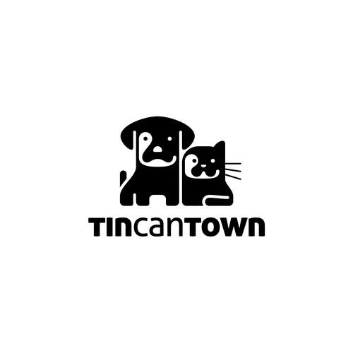 Tin Can Town logo