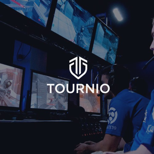 Logo design Competitive Esports Gaming Platform TOURNIO