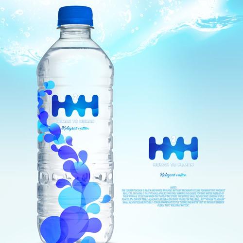H2H logo and label design