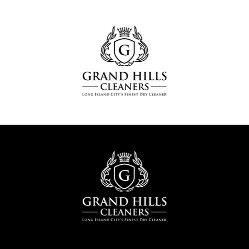 Design a high-end and luxury themed logo for garment cleaning solution provider based in NYC