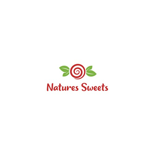 Logo concept for producer of naturaly based candy