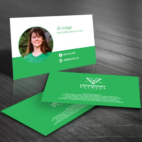 Business Card Entry