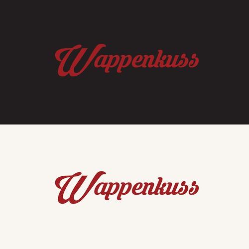 Wappenkuss Logo Design