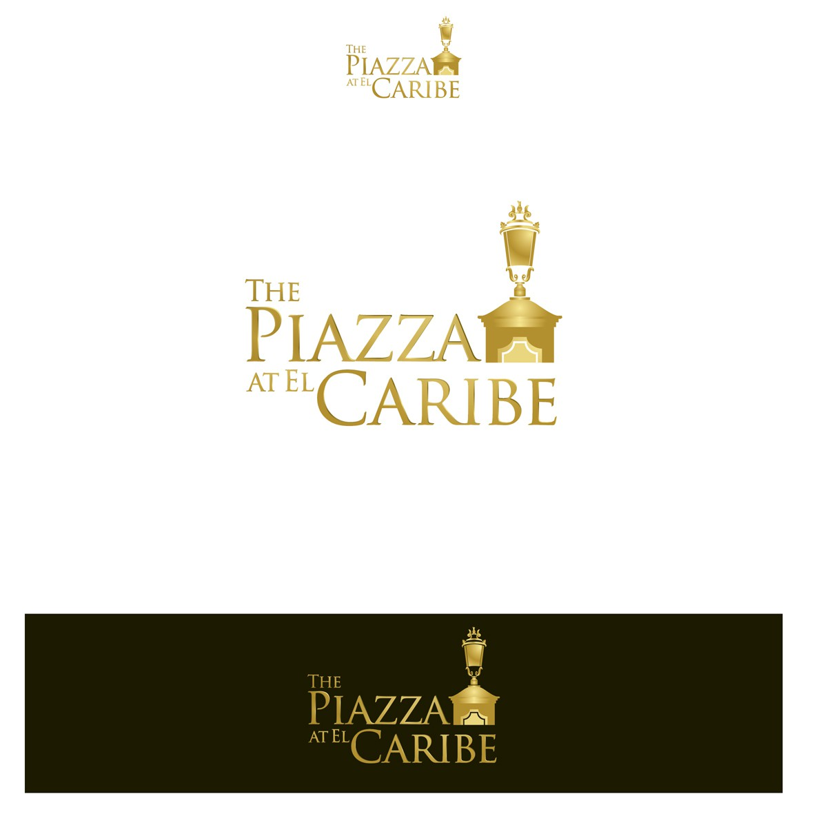 New logo wanted for The Piazza at El Caribe