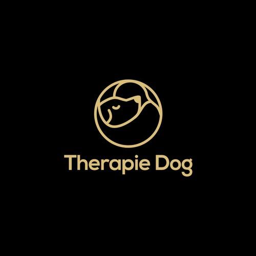 people dog logo