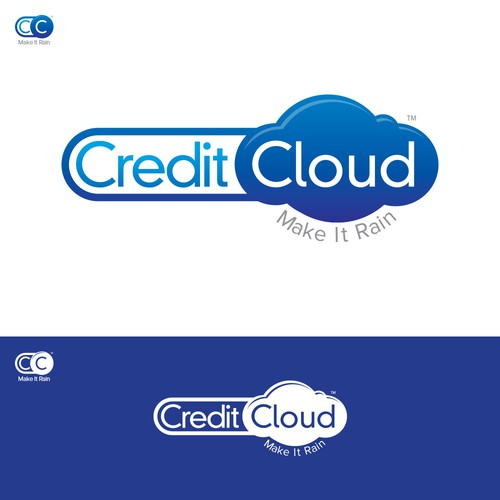 CreditCloud logo design entry