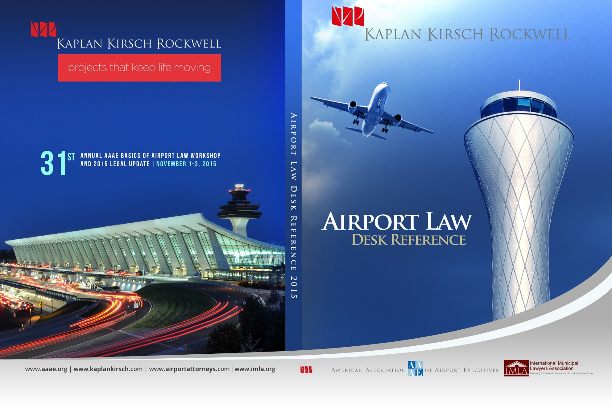 Book Design Needed for Airport Executives