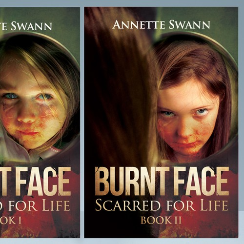 Burnt Face book covers