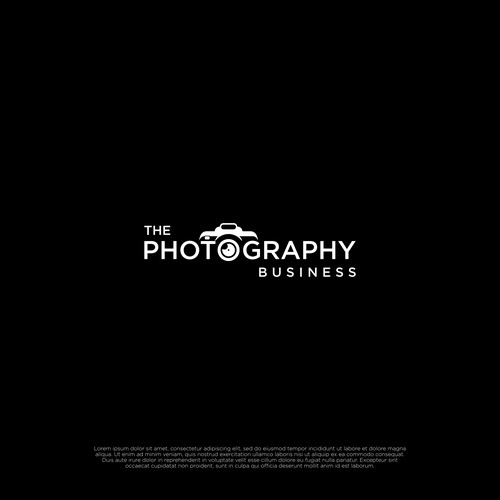 Design an amazing logo for The Photography Business