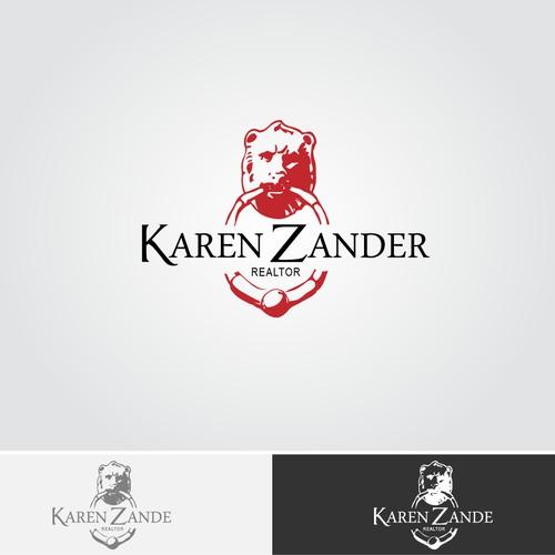 Help Karen Zander, Realtor with powerful new logo