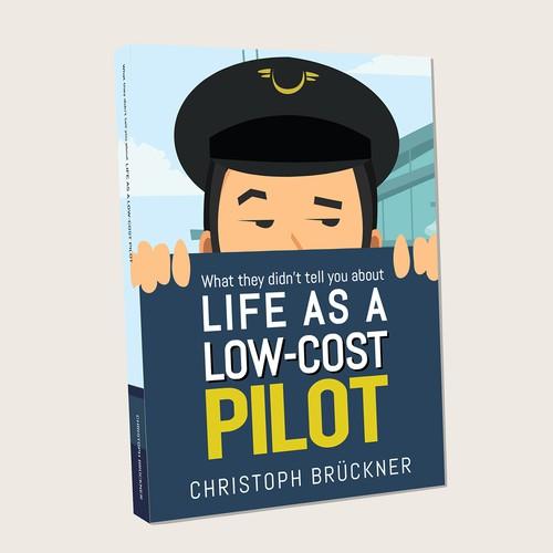 Book cover design for aviation whistleblower