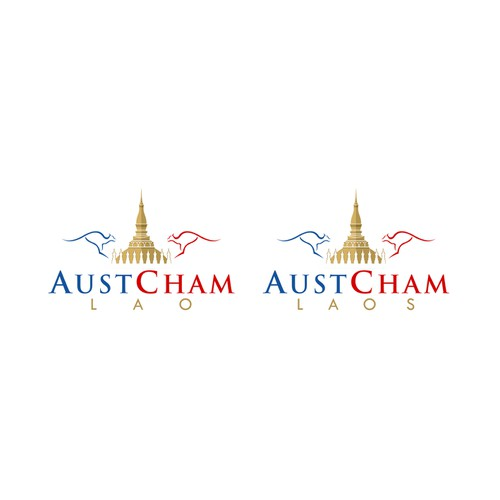Create a New Brand Identity Pack for 'AustCham Laos' - the AustralianChamber of Commerce in Lao PDR