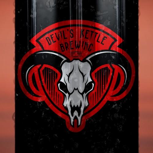 Logo for Devil's Kettle Brewing