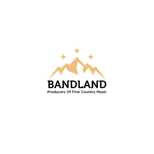 Logo concept for Music producer BANDLAND