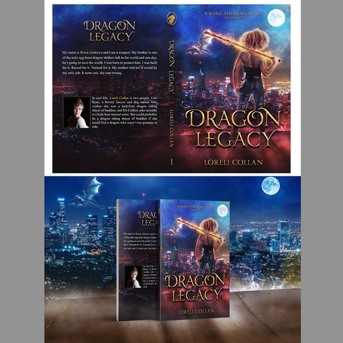 contest: Eye-catching commercial quality urban fantasy cover that sells for first book in ten book series