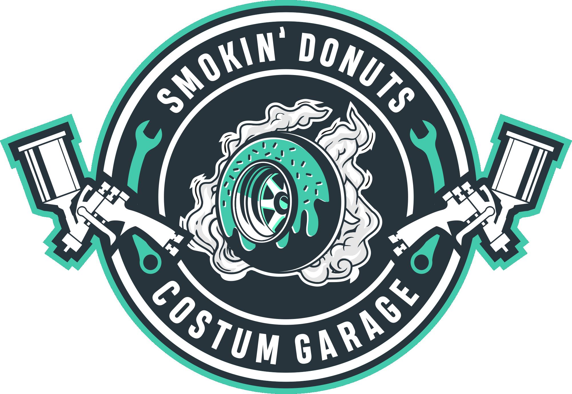 Smokin donuts  || Custom garage