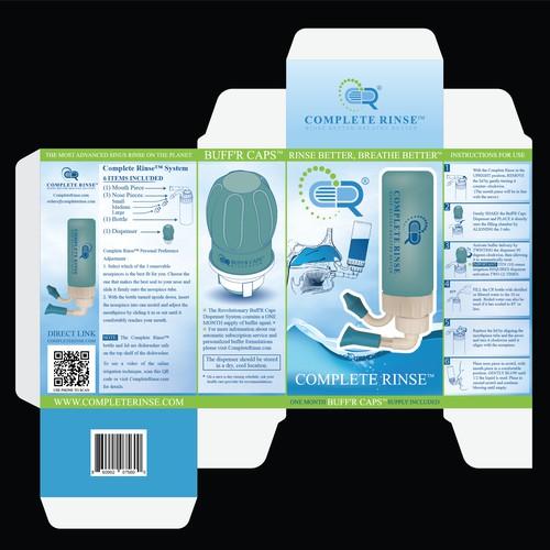 BUFFR CAPS BOX design