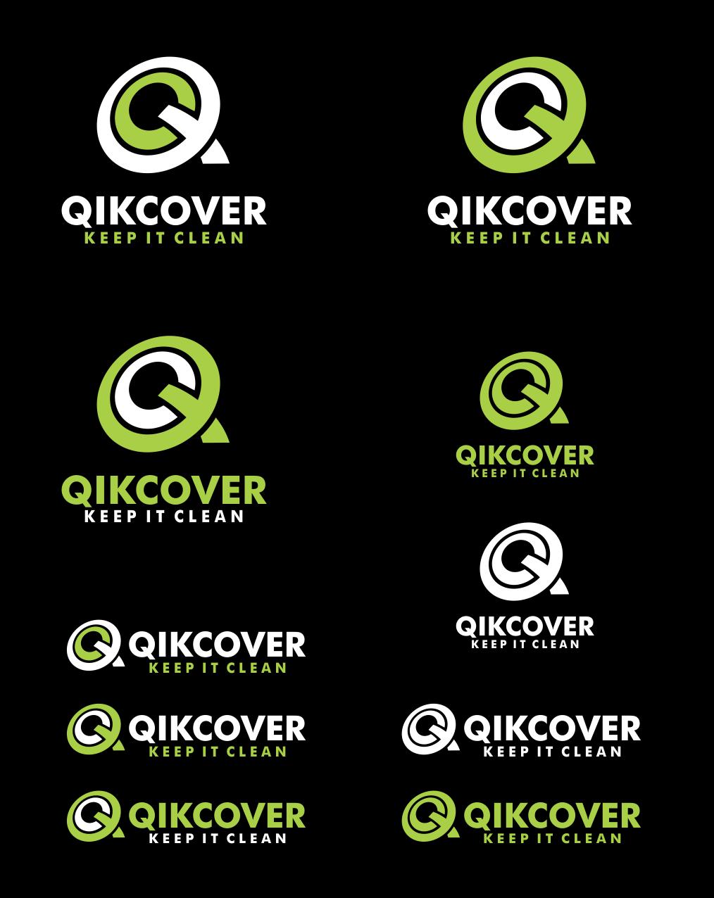 QIKCOVER™ needs a new logo