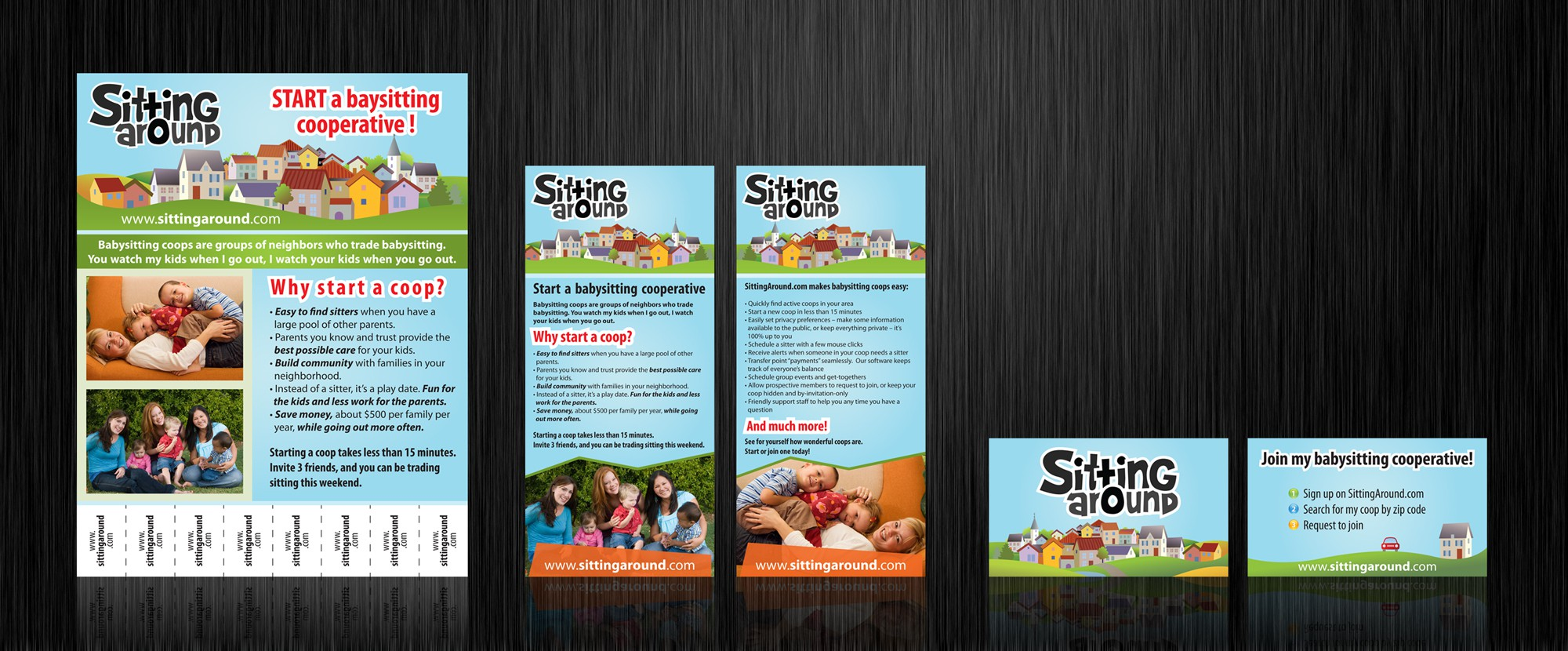 Brochure and Flyer design for childcare company