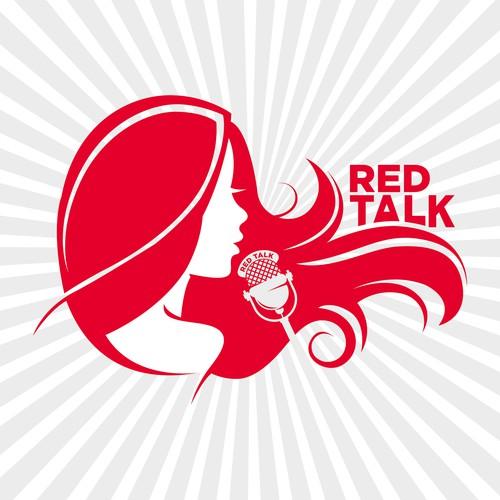 Red Talk Podcast Design